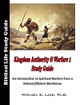 Kingdom Authority & Warfare 1 Study Guide