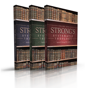 Strong's Systematic Theology - Three Volumes Large Print